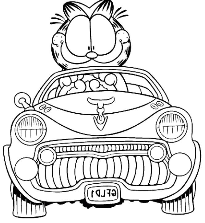 Unique Garfield Face Coloring Pages Gift - Coloring Paper ...