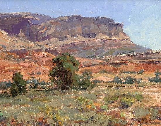 Capitol Reef Morning by Kathryn Stats - Greenhouse Gallery of Fine Art