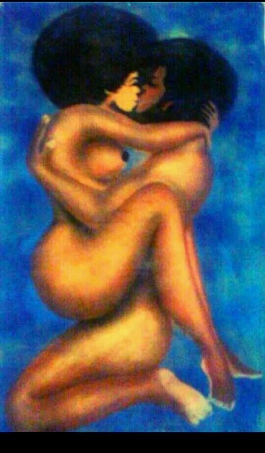 Congratulate, you romantic black art sex any more