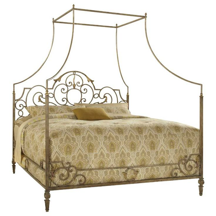 Fine Furniture Design Biltmore Metal Canopy King Bed FF