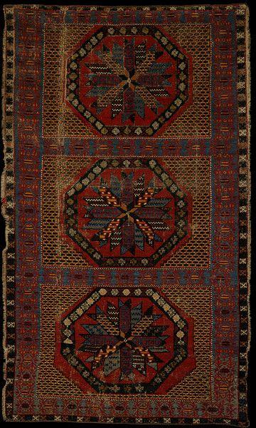 Carpet Place Of Origin Alcaraz Spain Probably Made Date 1450