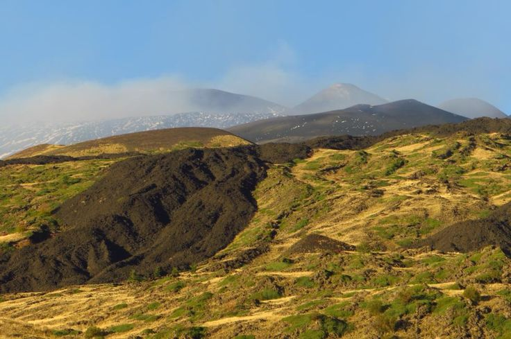 Autumn colors on Etna, #Sicily, #Italy, #volcano #nature