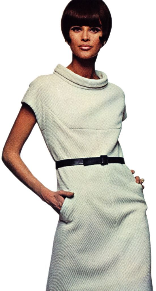 Ricci Textured Crimpolene Dress Source: Vogue Pattern Book, Autumn 1966