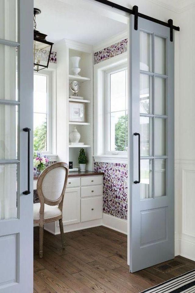 3 Creative Ideas For Adding Home Office In Master Bedroom Doors Interior Home Office Design Trendy Door