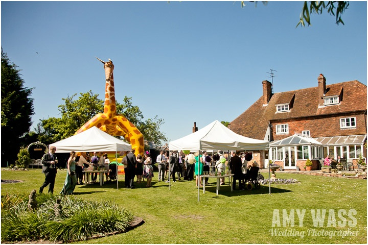 Taplins Place Wedding Reception. Outdoor Wedding in UK. Hartley Witney Wedding. Hampshire Photographer Amy Wass www.amywass.co.uk