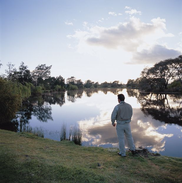 The beautiful lake at Country Club is fully stocked with rainbow and brown trout, ready to provide you with some exciting and enjoyable angling. Both spinning rods and fly fishing rods are available for hire.
