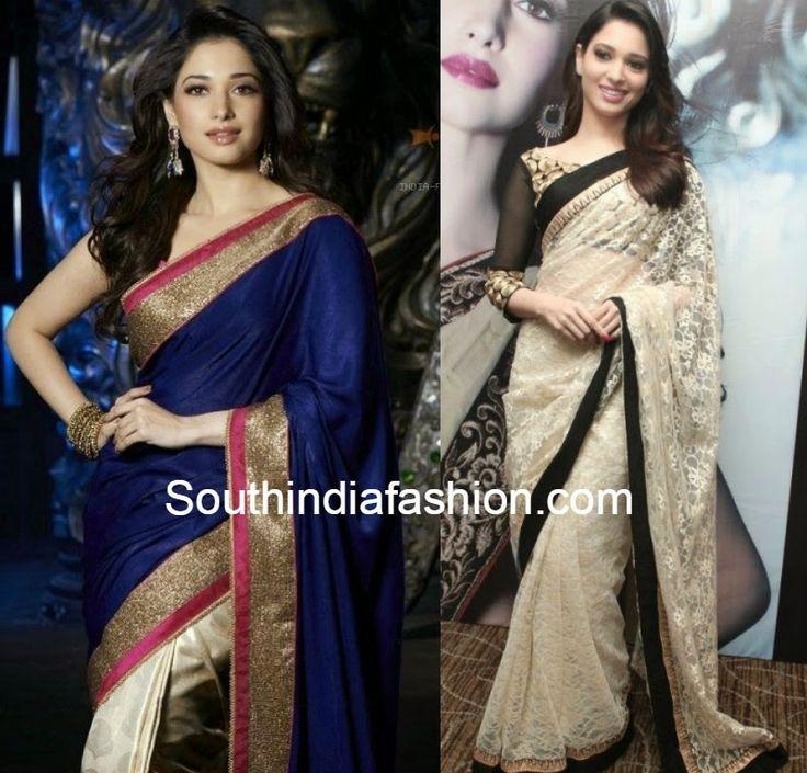 Tamanna Replica Sarees ~ Celebrity Sarees, Designer Sarees, Bridal Sarees, Latest Blouse Designs 2014