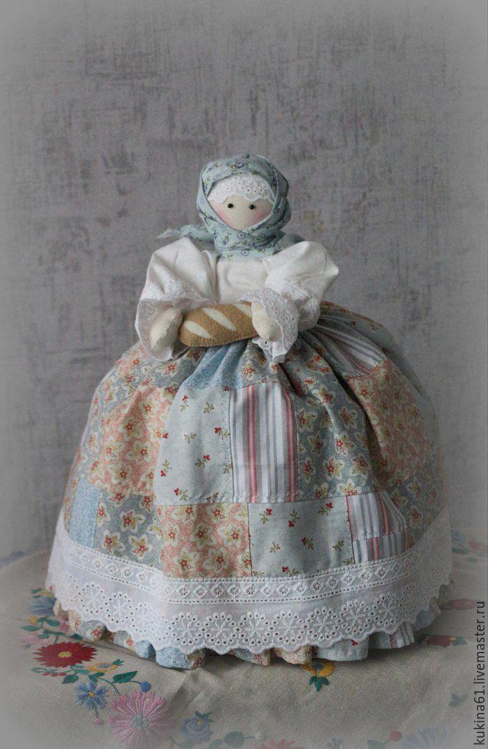 Купить баба на чайник - разноцветный, кукла ручной работы, кукла интерьерная…