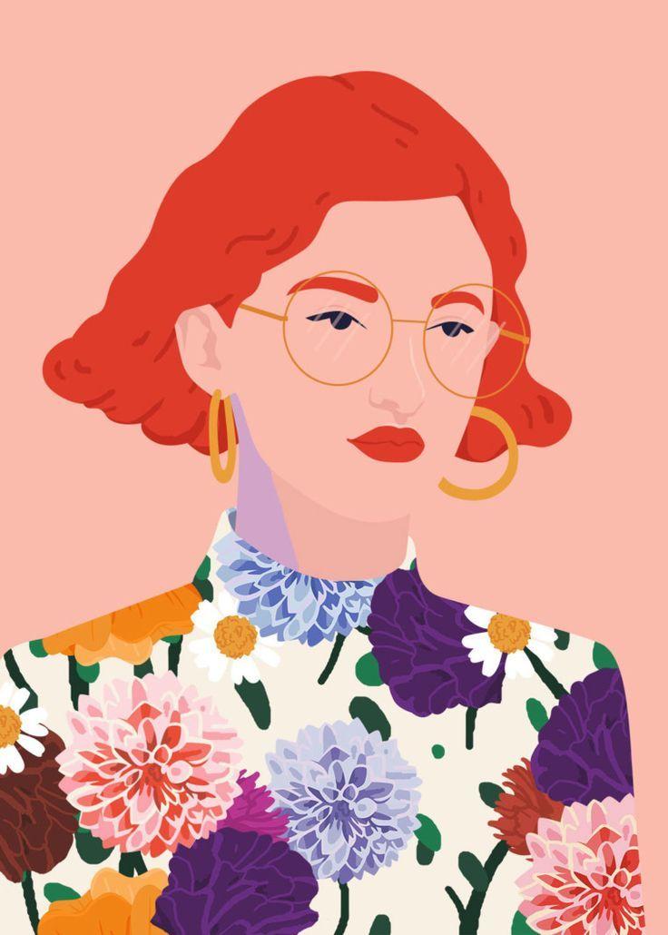 Die farbenfrohen Portraits von Petra Eriksson – Lisa Hoefer
