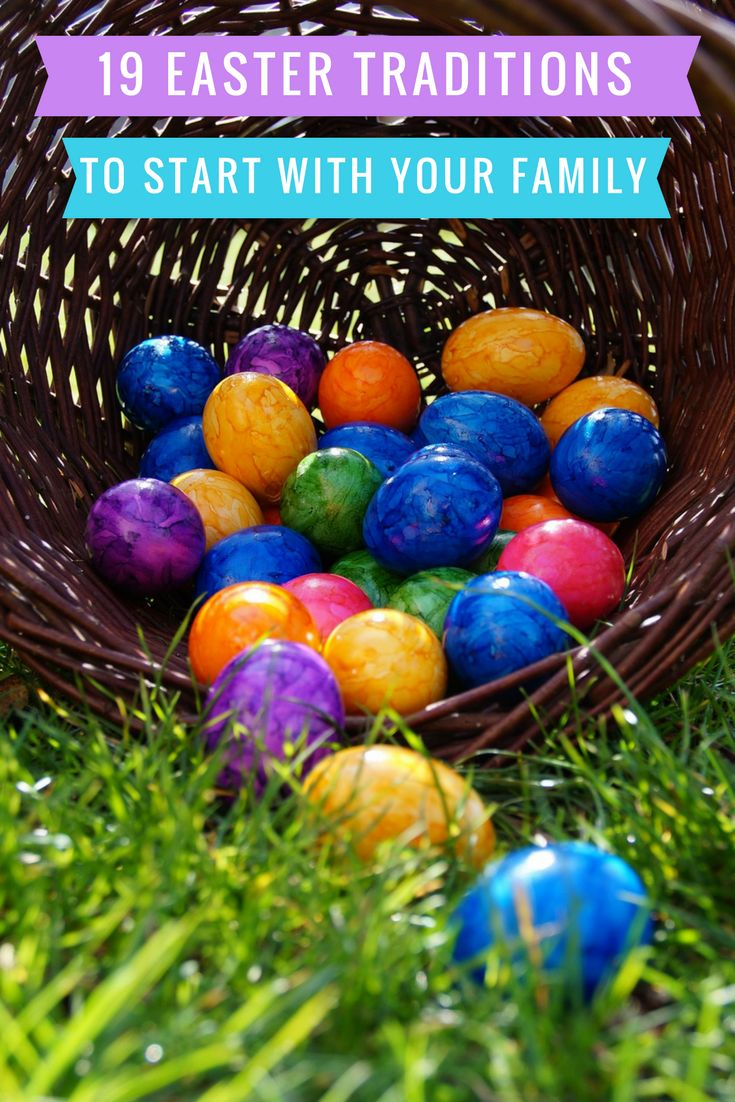 Best 25 traditions to start ideas on pinterest christmas 19 easter traditions to start with your family negle Choice Image