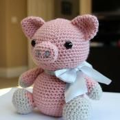 Amigurumi Pattern - Hamlet the Pig - via @Craftsy