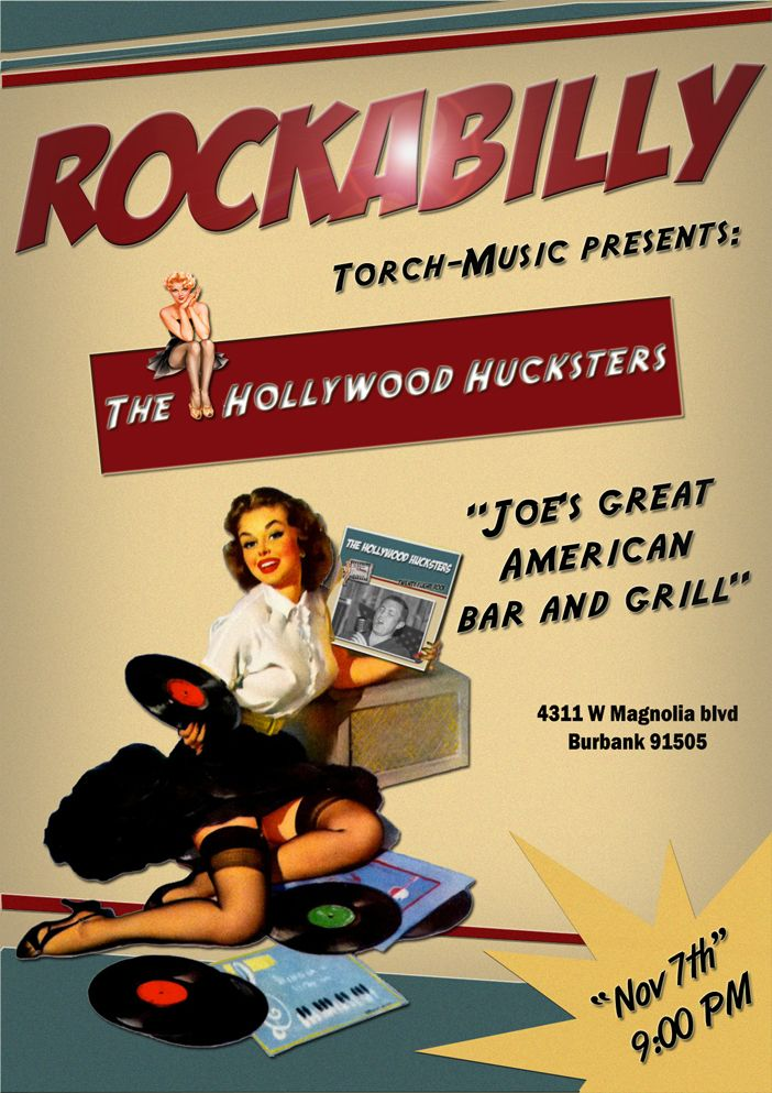 The Hollywood Hucksters Rockabilly Baby !