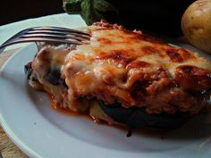 Moussakà greca (Pasticcio di carne, melanzane e patate)10