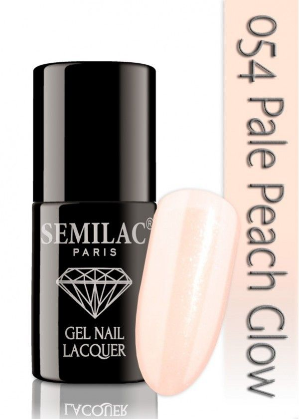 Semilac 054 Pale Peach Glow UV&LED Nagellack. Auch ohne Nagelstudio bis zu 3 WOCHEN perfekte Nägel!