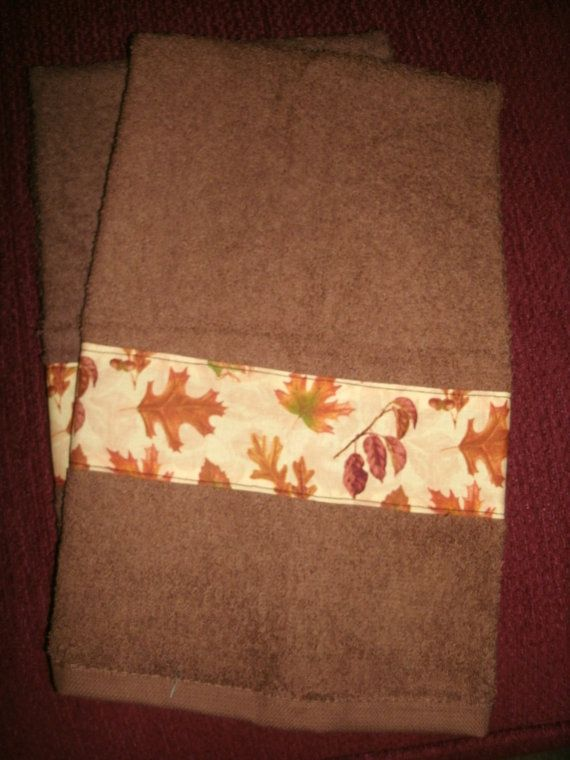 Seasonal Hand Towels Decorator Hand Towels by CraftsbyDebbieLea
