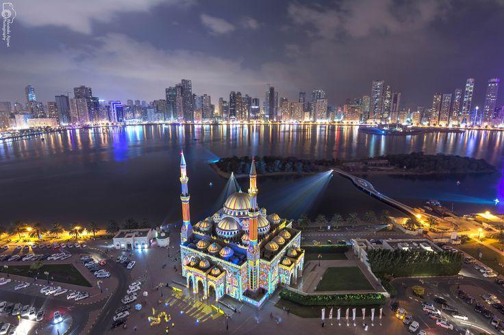 Photo Sharjah Lights Festival - 2015 by Mostafa Ajjawi on 500px