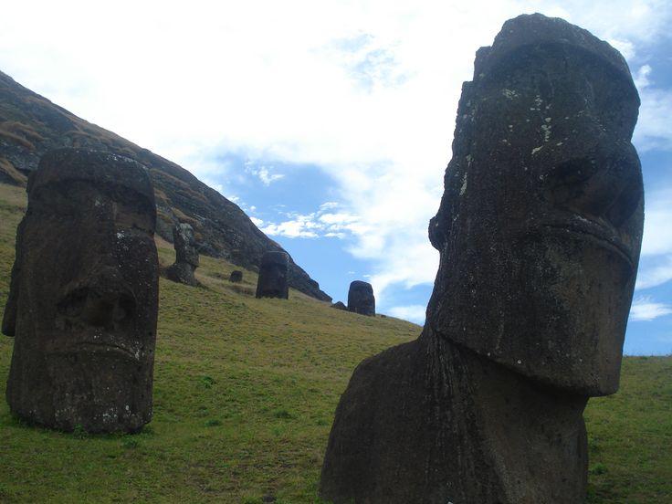 Cantera en Rano Raraku, Rapa Nui (2014)