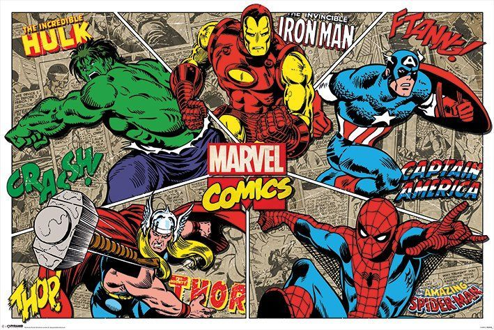 Marvel poszter