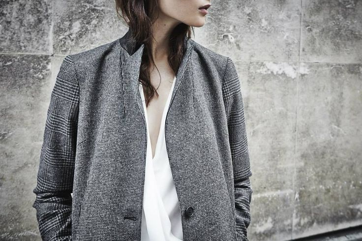 ALLSAINTS | WORN IN LONDON. The Berta Coat on Location. Set against a London backdrop, our Autumn style hits the street