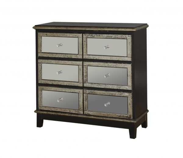 Accents Accent Chest W/ Mirrored Drawers By Pulaski Furniture At Dunk U0026  Bright Furniture