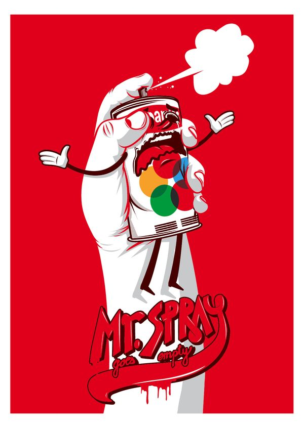 Mr. spray