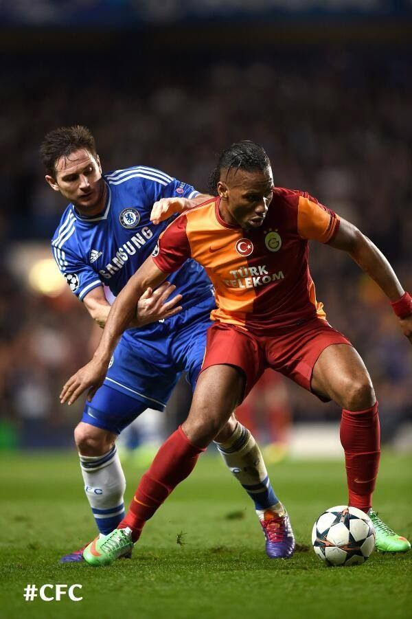 Lampard vs. Drogba
