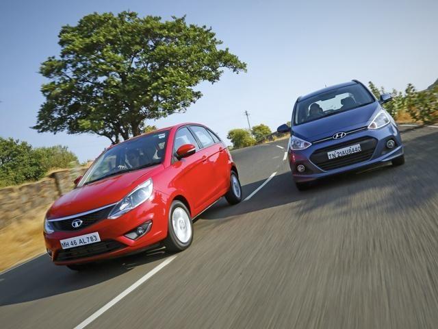 Slideshow : Tata Bolt versus Hyundai Grand i10 - Tata Bolt versus Hyundai Grand i10: Comparison review - The Economic Times