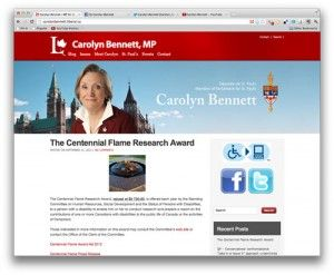Liberal MP Carolyn Bennett is demonstrating online tools aren't just additional channels over which to shout.