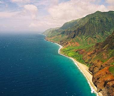 An oasis in Kauai, Hawaii.