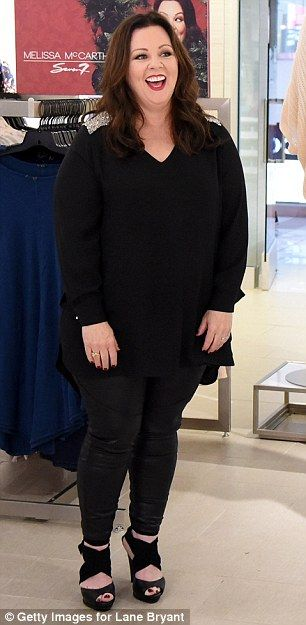 Melissa McCarthy showcases impressive weight loss at her Seven7 brand clothing launch | Daily Mail Online