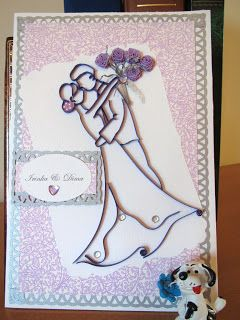 Nv Craft Designs Quilled Wedding Cards Dancing