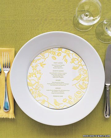 Round menu cards: Reception, Wedding Inspiration, Table Settings, Wedding Ideas, Menu Cards, Design