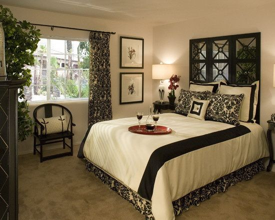 46 best Black and white bedroom ideas images on Pinterest | Black ...