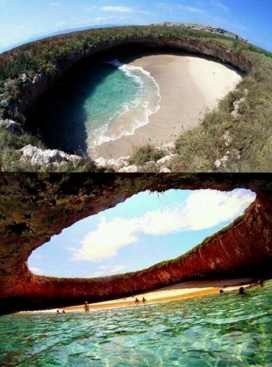 The Hidden Beach, Marieta Islands, Mexico
