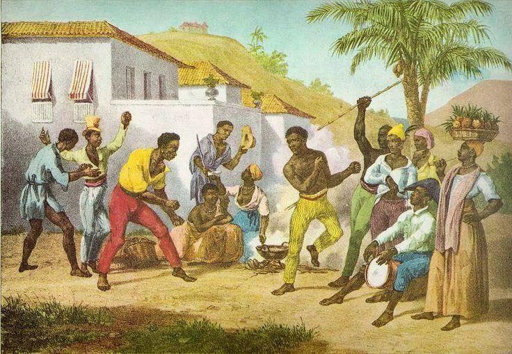 O surgimento da capoeira | História Ilustrada