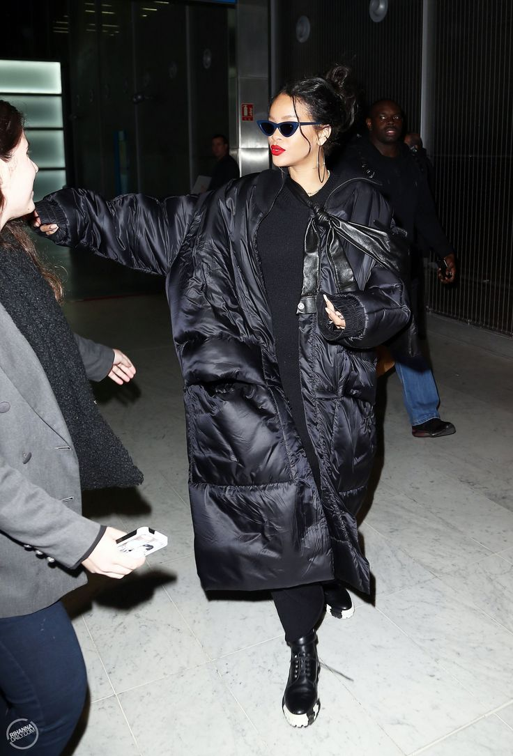 Rihanna in Paris wearing Adam Selman x Le Specs 'The Last Lolita' sunglasses