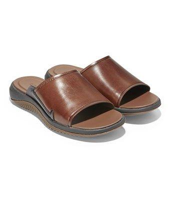 4d8b0d101ca5 COLE HAAN COLE HAAN MEN S 2.ZEROGRAND SLIDE SANDAL C27635 WOODBURY-GUM -  WOODBURY-GUM.  colehaan  shoes