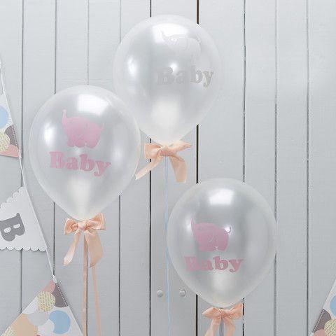 Balloner til barnedåb, babyshower og den første fødselsdag.