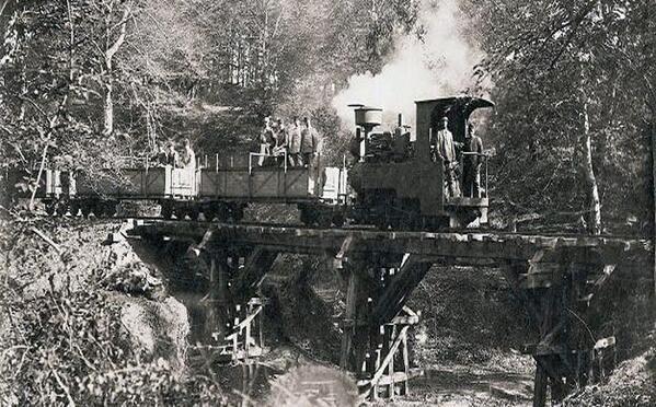 Eyüp Silahtarağa Santraline kömür taşımak için yapılan demiryolu.Yol Kağıthane'den geçerek Kemerburgaz'a ulaşıyordu