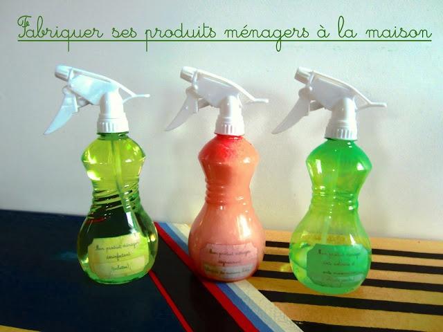 Fabriquer ses produits ménagers à la maison - 1