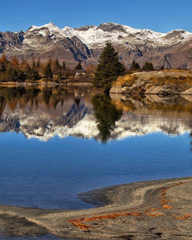 Lago Aviolo Valle Camonica Novembre