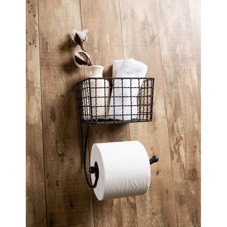 Design imports wire towel bar farmhouse wall mount toilet