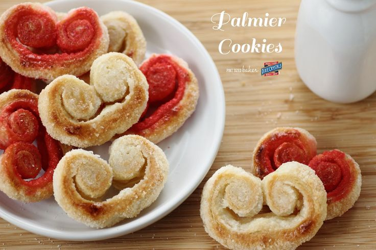 Homemade Palmier Cookies have only two ingredients and are ready in under 20 minutes!