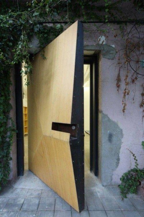 10. Entradas do Studio-X da Universidade de Columbia em Pequim, China, desenhada pelo escritório O.P.E.N. Architecture.