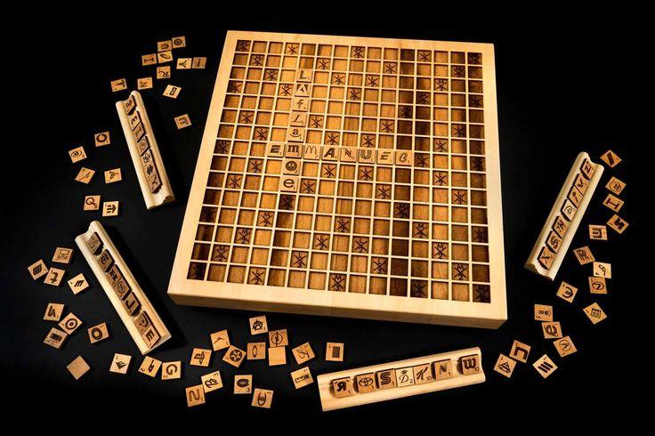 Holz-Scrabble mit Buchstaben aus Markenlogos https://www.langweiledich.net/holz-scrabble-mit-buchstaben-aus-markenlogos/