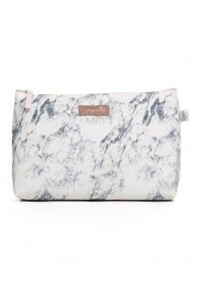 Cosmetic Bag in Marble Large
