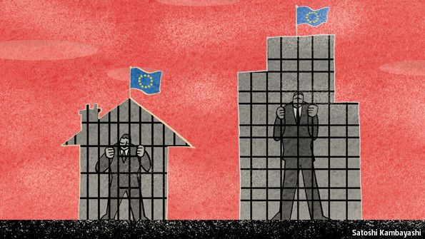 Debtors' prison  The euro zone is blighted by private debt even more than by government debt