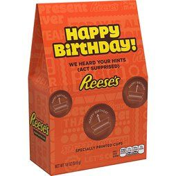 Happy Birthday Reese's Peanut Butter Cups: 20-Piece Tote