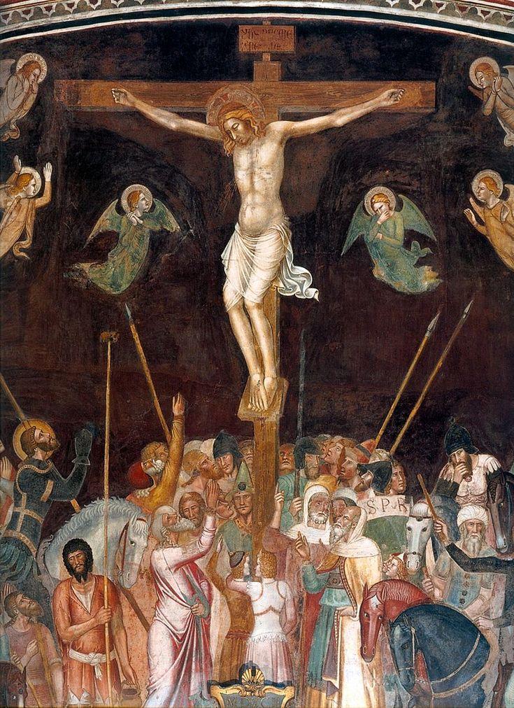 Andrea di Bonaiuto. Santa Maria Novella 1366-7 fresco 0009 - Андреа Бонайути — Википедия. Фрески Испанской капеллы церкви Санта-Мария-Новелла.