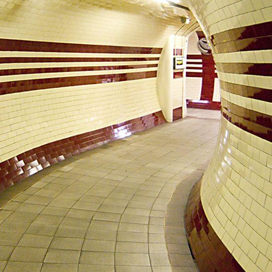 london underground tiles - Google Search